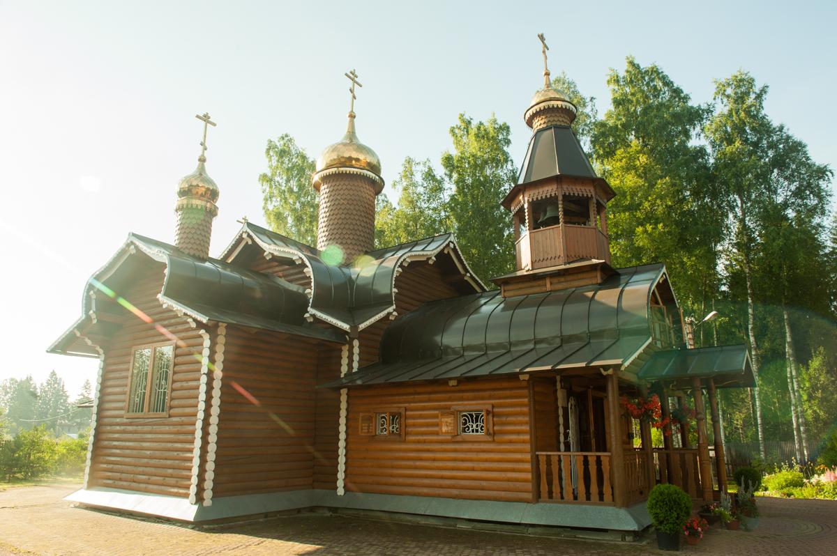 Храм святых благоверных князей Бориса и Глеба пос. Агалатово