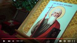 Мощи апостола Андрея Первозванного прибыли в Светогорск