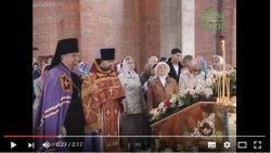 В строящемся Иоанно-Богословском храме города Кудрово состоялось первое богослужение