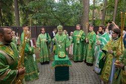 Освящение храма прп. Серафима Саровского