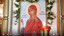 Престольный праздник в храме Марии Магдалины д. Бор возглавил епископ Выборгский и Приозерский Игнатий