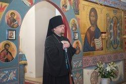 """Проповедь в престольный праздник  памяти иконы """"Всех Скорбящих Радосте"""" в Коробицыно"""