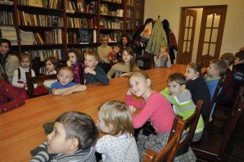 Рождественское занятие в воскресной школе Свято-Ильинского храма