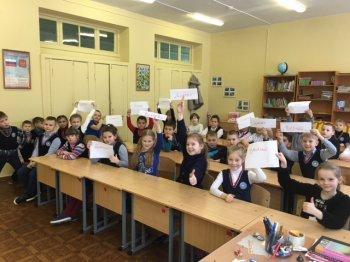 """Начались """"Уроки Добра"""" для младших классов и беседы о сотворении мира в Вагановской школе"""