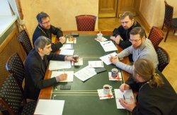 Глава Молодежного отдела Выборгской епархии принял участие в первом совещании руководителей Отделов по делам молодёжи Санкт-Петербургской митрополии