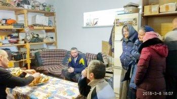 Подворье Ильинского храма в Лужайке посетил храмовый хор