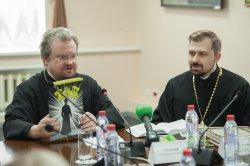 Выборгская епархия  представила на пресс-конференции  первое православное пособие для молодежи в иллюстрациях