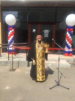Настоятель храма в Рахье принял участие в открытии новопостроенного Центра Муниципальных услуг во  Всеволожске