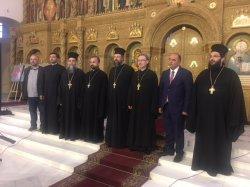 Клирик Выборгской епархии, ответственный за взаимосвязи с отделом Культуры Всеволожского района вместе с прихожанами побывал на концерте Византийской музыки