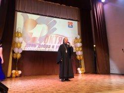 Настоятель Варваринского храма Рахьи принял участие в праздновании Дня пожилого человека во Всеволожске