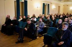 На базе РХГА  открылись курсы повышения квалификации духовенства Выборгской и Гатчинской епархии