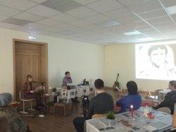 В литературно-музыкальной гостиной  Духовно-просветительского центра в Колтушах состоялся вечер памяти Высоцкого