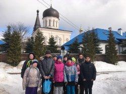 Приход храма г.Приморска организовал поездку в Константино-Еленинский монастырь и в Петербург воспитанников коррекционной городской школы-интерната