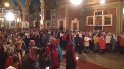 Пасхальная литургия в кафедральном соборе г. Выборга