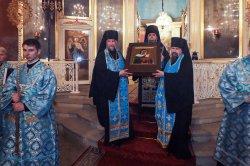 Чудотворная Коневская икона прибыла  в Выборг
