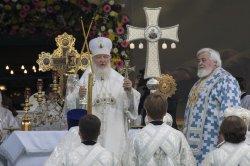 Торжества 125-летия Выборгской епархии: Патриаршая Литургия на Соборной площади