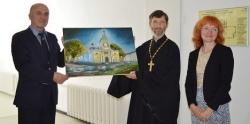 В библиотеке Аалто проходит выставка «Святые места земли Ленинградской» к юбилею Выборгской епархии