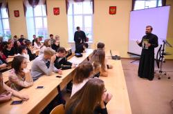 Молодежная секция состоялась в рамках VI Архангело-Михайловских чтений Фото П.Бушуева