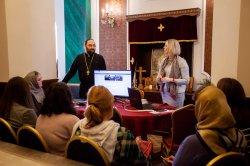 На СПб подворье Коневской обители состоялся  открытый мастер-класс епархиальной пресс-службы и совещание сотрудников по информационному служению
